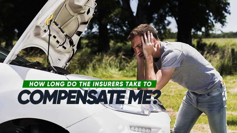 Depending on the severity of the accident, a claim process may take as long as up to 1 year for settlement. Repairing your car may only take up to 5 days