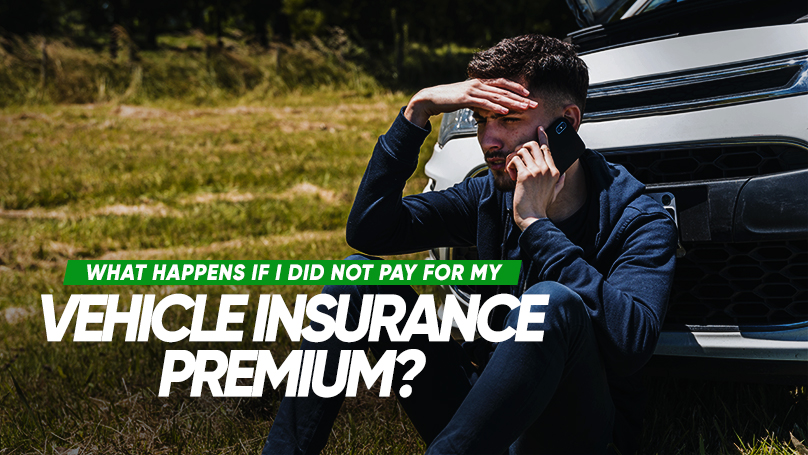 Your vehicle insurance policy will be cancelled after the insurer has served you the final payment reminder later or 30 days from non-payment,