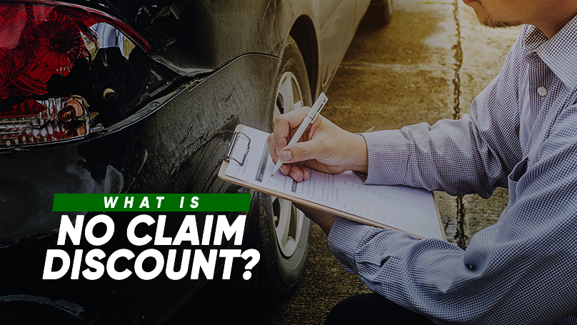 After you have purchased and registered a car with an insurance coverage under your name, you are entitled to No Claim Discount (NCD).